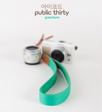 ICODE 幸運草 最流行的彩色相機背帶 PUBLIC 30  [音調綠/P1239]