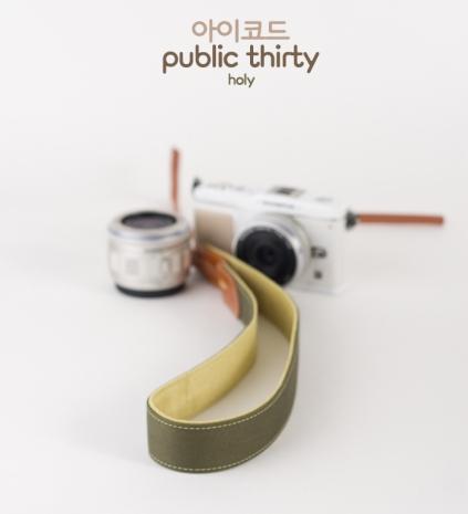 ICODE 幸運草 最流行的彩色相機背帶 PUBLIC 30  [原始綠/P1663]