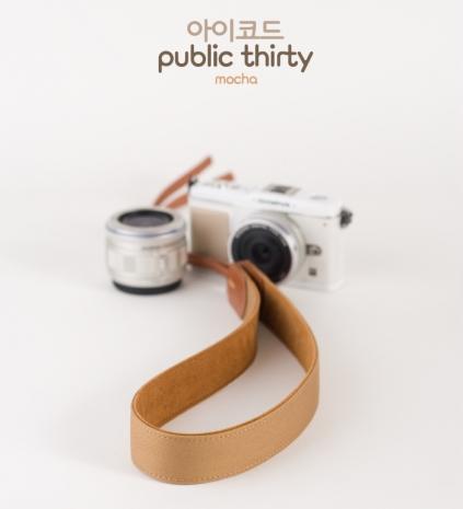 ICODE 幸運草 最流行的彩色相機背帶 PUBLIC 30 [摩卡色/P1261]