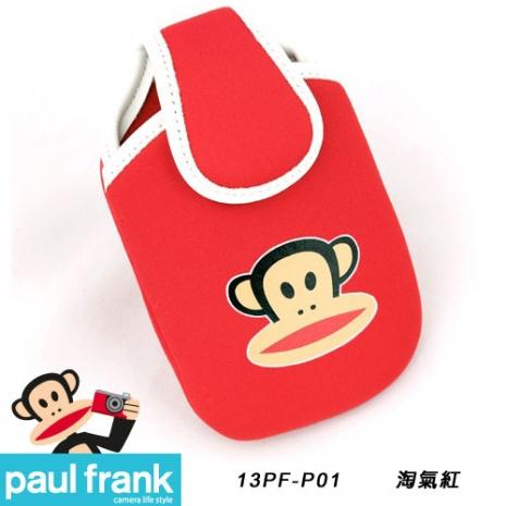 Paul Frank 大嘴猴相機包系列-超可愛輕巧相機包[13PF-P01-R/淘氣紅]