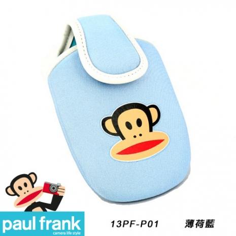 Paul Frank 大嘴猴相機包系列-超可愛輕巧相機包[13PF-P01-B/薄荷藍]