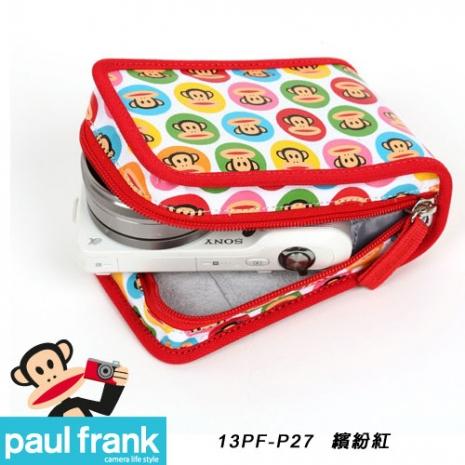 Paul Frank 大嘴猴相機包系列-超可愛絢麗輕巧包[13PF-P27-R/繽紛紅]