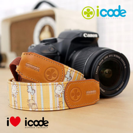 ICODE 幸運草 最流行的彩色相機背帶 PUBLIC 30 -最新花色 [共有13新色可選]