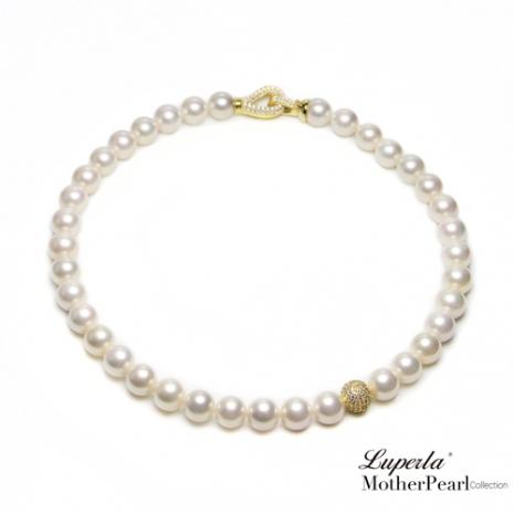 大東山10mm南洋貝寶珠項鍊-永恆經典金鑽白設計師旗艦版-預購