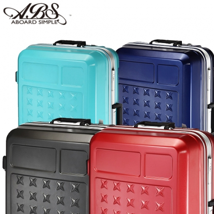 【買24吋送20吋】【ABS愛貝斯】幻像星芒鋁框箱 防刮行李箱 (任選一色102-010B+C)