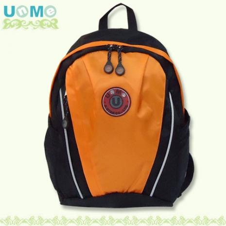 【勤逸軒】UNME超輕戶外教學後背包/粉橘色