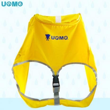 【UNME】可拆式及加大型拉桿書包戶外專用雨衣-大