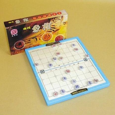 【戶外遊戲】磁性象棋