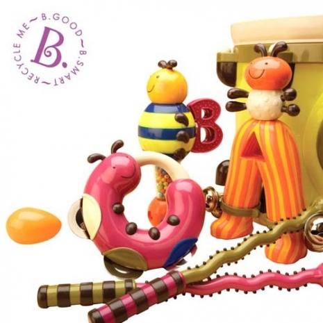 【美國B.Toys感統玩具】砰砰砰打擊樂團