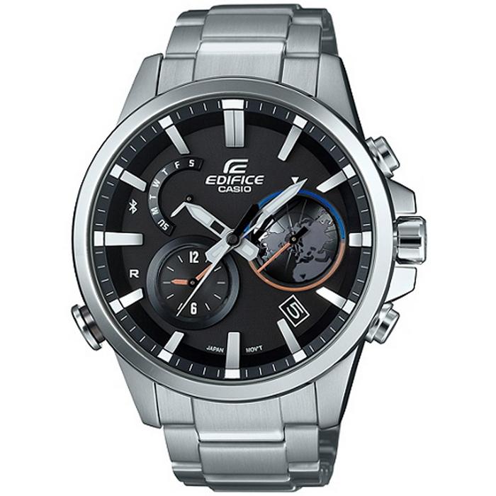 EDIFICE EQB-600 全新藍牙錶款-黑_EQB-600D-1A