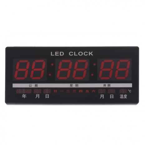 LED數位電子掛鐘(JH4622A)