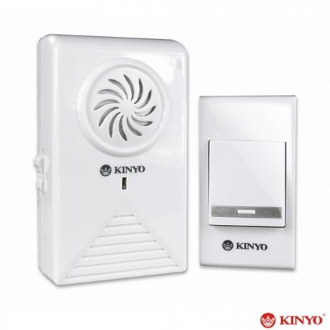 【KINYO】超高頻交流式遠距離無線音樂門鈴(DB-383)