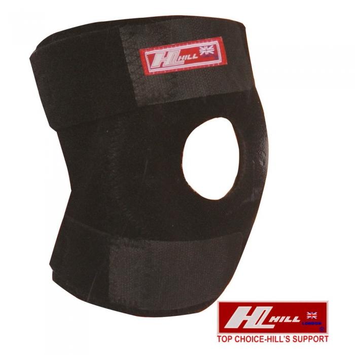 【HILL】肢體護具/未滅菌-短版雙側條護膝-F(S-17)