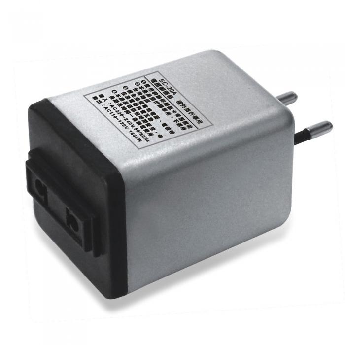 【Dr.AV】220V轉110V變壓器(SC-20A)2入