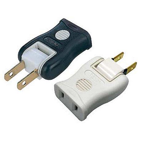 高容量 轉向插座 2孔1座 (1卡2入)