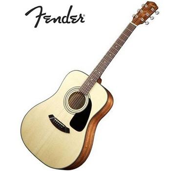 【Fender】世界級吉他大廠 面單板亮光民謠吉他/木吉他 (DG8S)