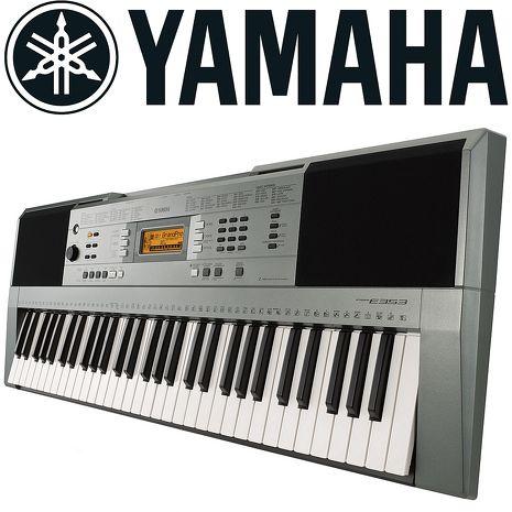 【YAMAHA 山葉】標準61鍵自動伴奏電子琴-公司貨保固 (PSR-E353)