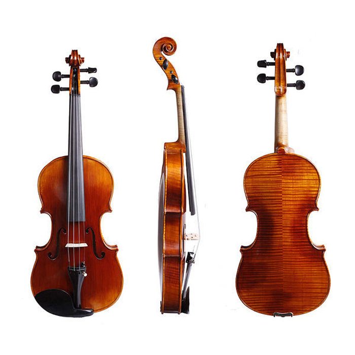 【SANDNER】法蘭山德 TV-26 高品質小提琴 進階頂級套裝組(TV26)