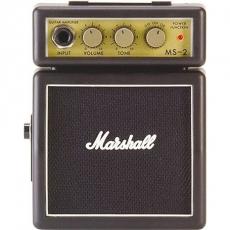~Marshall~MS~2 英國知名品牌 迷你電吉他音箱 攜帶式音箱 小音箱^(MS2^