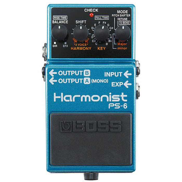 【BOSS】PS-6 Harmonist 移調效果器(PS6)'原廠公司貨 現貨供應'