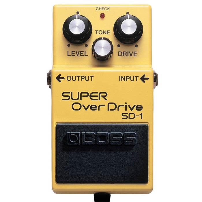【BOSS】SUPER OverDrive SD-1 破音 失真 效果器(SD1)'原廠公司貨 現貨供應'