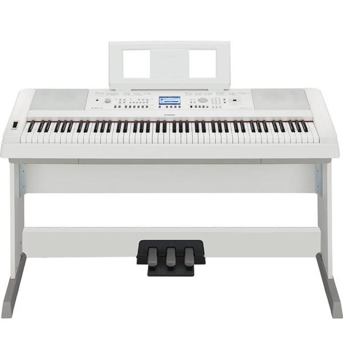 2014新品上市【YAMAHA】DGX-650 '白色'88鍵數位鋼琴(DGX650)