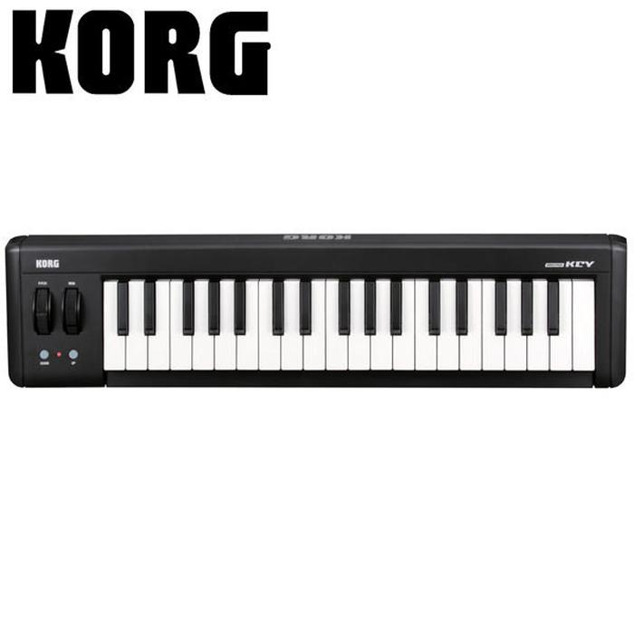 【KORG】microKey 37鍵迷你鍵盤 USB主控鍵盤【宅錄打譜編曲最佳拍檔】