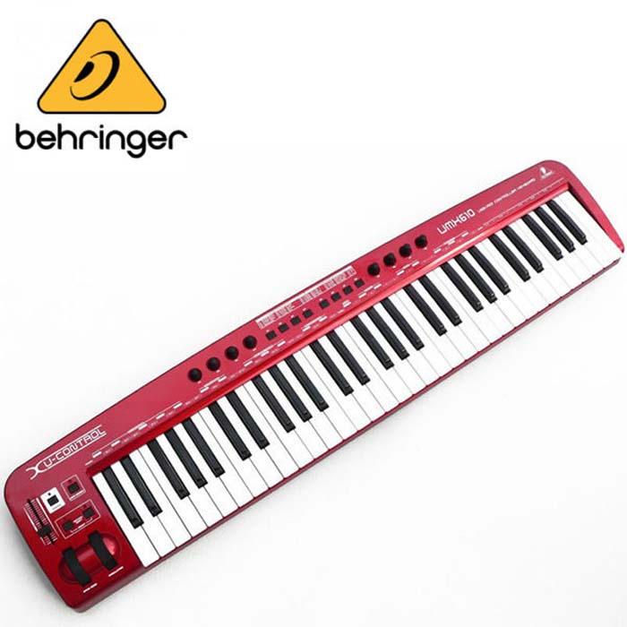 【Behringer】UMX-610 61鍵 USB 主控/控制鍵盤 Keyboard Controller(UMX610)