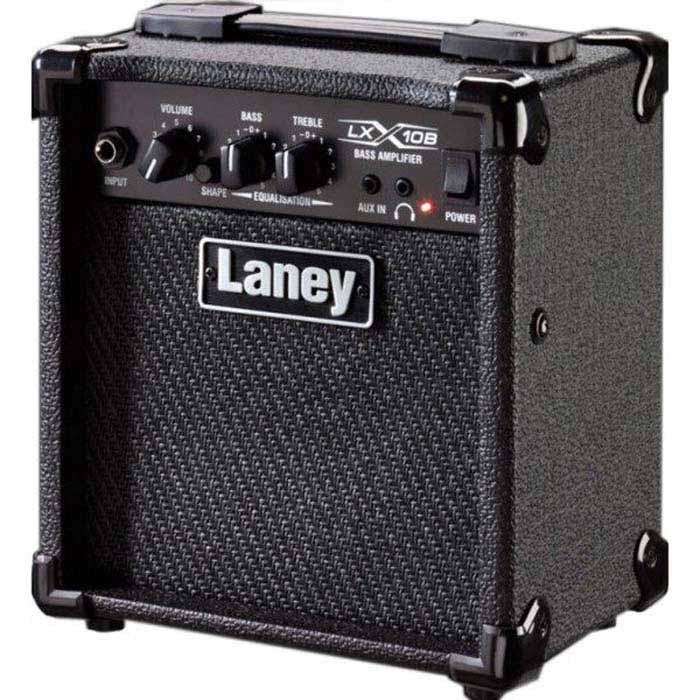 【Laney】英國知名品牌 LX-10B 電貝斯小音箱 BASS AMP(LX10B)