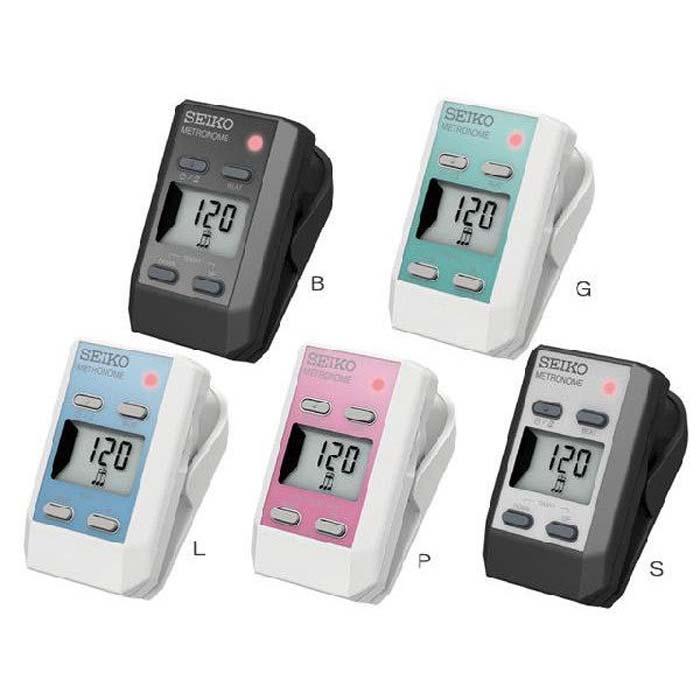 【SEIKO】DM51 專業型 夾式電子節拍器 總代理公司貨DM-51'5色可選'