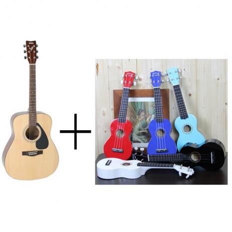 【YAMAHA】山葉 F310 木吉他/民謠吉他(F-310)'加贈:21吋 鏡面彩色烏克麗麗''原廠公司貨 現貨供應'