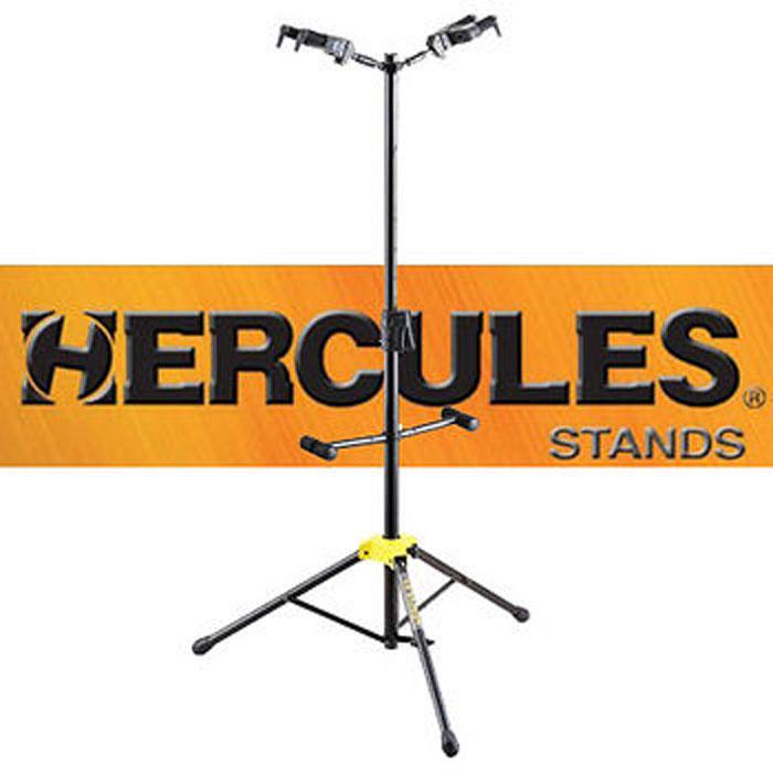 【HERCULES】海克力斯 GS-422B 頂背式雙支吉他架(GS422B)