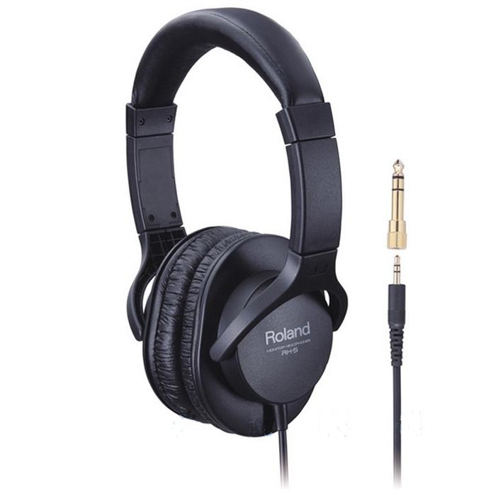 【Roland】樂蘭 RH-5 立體聲監聽耳機(RH5)