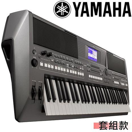 【YAMAHA 山葉】61鍵專業級電子琴工作站-公司貨保固 (PSR-S670)