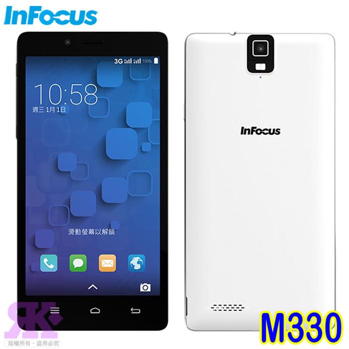 InFocus M330 5.5吋八核心雙卡智慧型手機(時尚黑)-贈原廠皮套+保貼