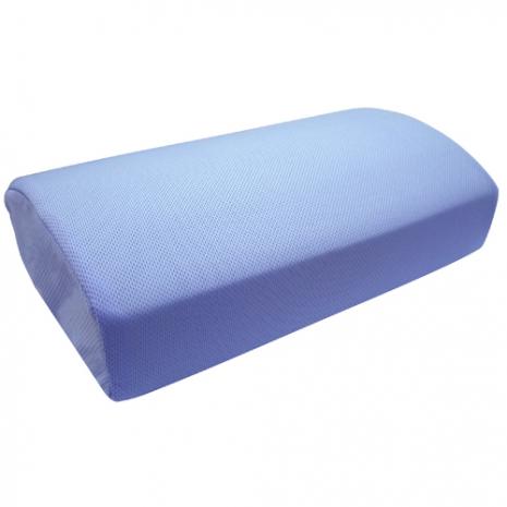1入-Lisan竹炭惰性棉鳥眼布午安枕-藍色