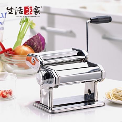 【生活采家】KOK系列可水洗細寬雙刀七段壓麵/製麵機(加贈餃子模)#99340