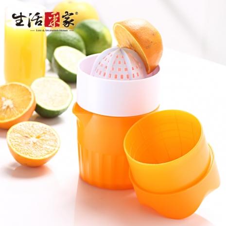 【生活采家】KOK系列水果料理手動搾汁機(2入組)#99337