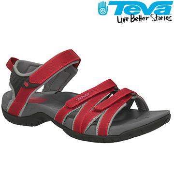 TEVA 《女款》熱銷水陸機能運動涼鞋Tirra - 紅