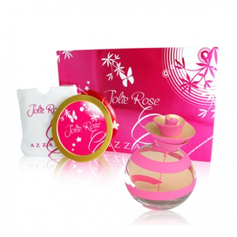 AZZARO Jolie Rose 茱麗粉紅淡香水精緻禮盒組 50ml