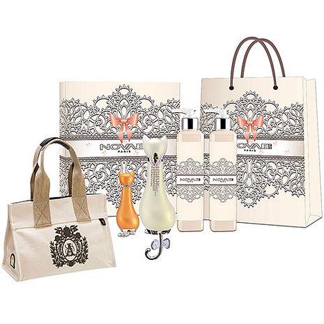 Novae Plus 維納斯 白女性淡香精 50ml+愛情神話禮盒+紙袋+A.D.M.J.托特包