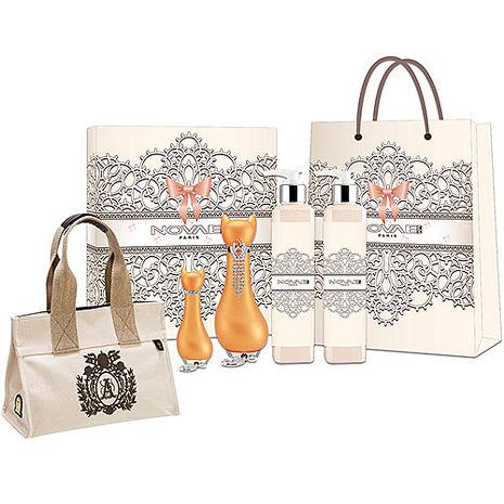 Novae Plus 歐若拉 橘女性淡香精 50ml+愛情神話禮盒+紙袋+A.D.M.J.托特包