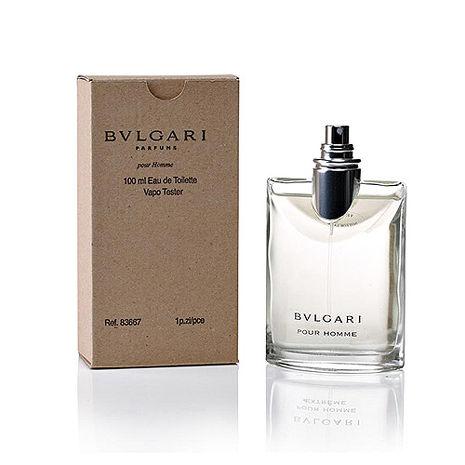 BVLGARI Pour Homme 寶格麗經典大吉嶺茶中性淡香水 100ml tester