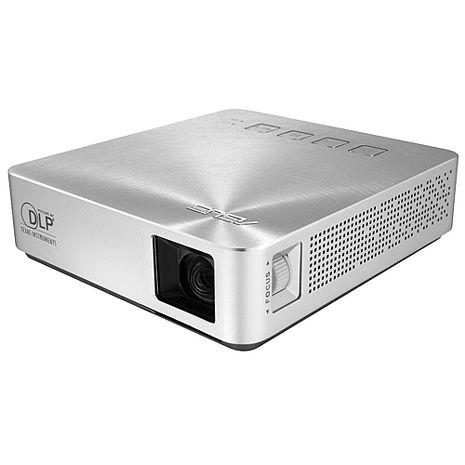 ASUS 華碩 S1 輕巧便攜式LED 短焦投影機 (內建電池) 銀色