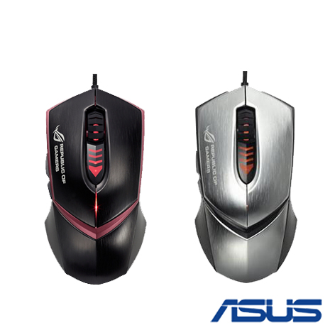 ASUS 華碩 ROG GX1000 MOUSE 電競滑鼠 (銀/黑)