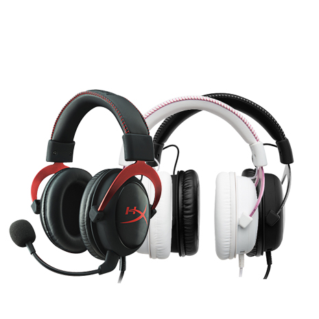KingSton 金士頓 HyperX CLOUD II 電競耳機 (金屬灰/粉紅/靚酷紅)