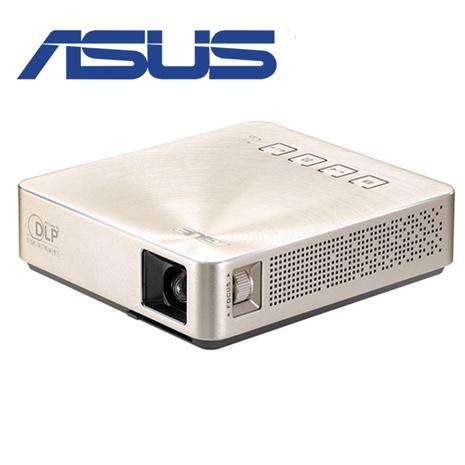 ASUS 華碩 S1 輕巧便攜式LED 短焦投影機  金色