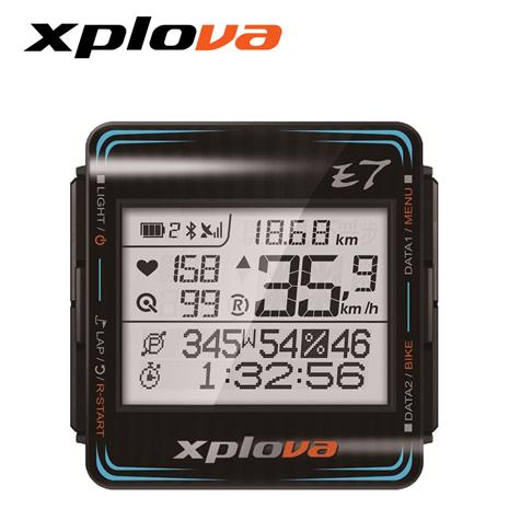 Xplova E7 智慧型自行車錶 黑色