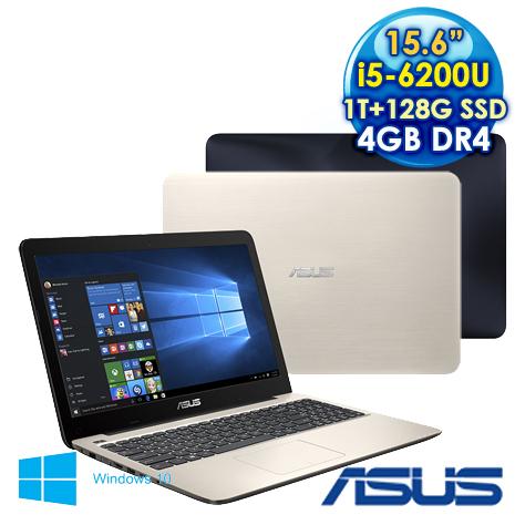 【瘋狂特殺】ASUS  華碩  K556UQ  (i5-6200U/15.6F/4GD4/1TB/128SSD/W10)  2G獨顯效能筆電