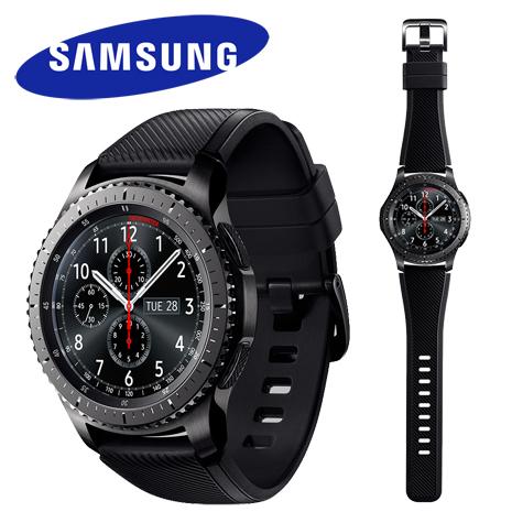 Samsung Gear S3 Frontier 智慧型手錶 (橡膠帶)